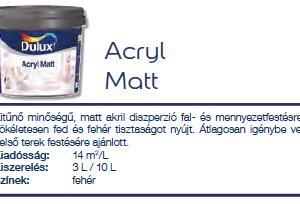 Dulux Acryl Matt_1