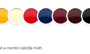 Hammerite fényes színek